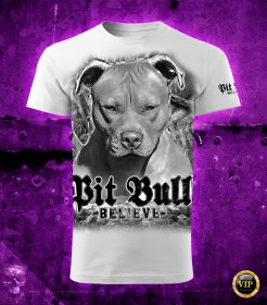 Pit Bull Believe [Dirty City] póló