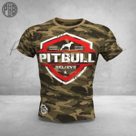 Pit Bull Believe [Hierarchy] Team Elite Camo T-Shirt
