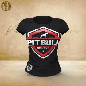 Pit Bull Believe [Hierarchy] Team Elite Women T-Shirt
