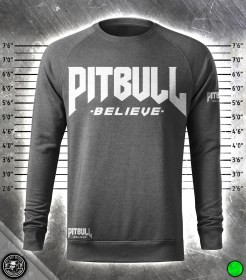Pit Bull Believe [Stronger Elite] Denim Black pulóver