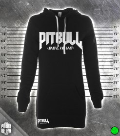 Pit Bull Believe [Stronger] Hood Dress