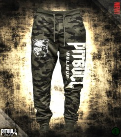Pit Bull Believe [Stronger] Jungle Camo nadrág