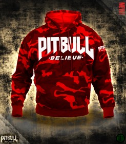Pit Bull Believe [Stonger Elite Red Camo] pulóver